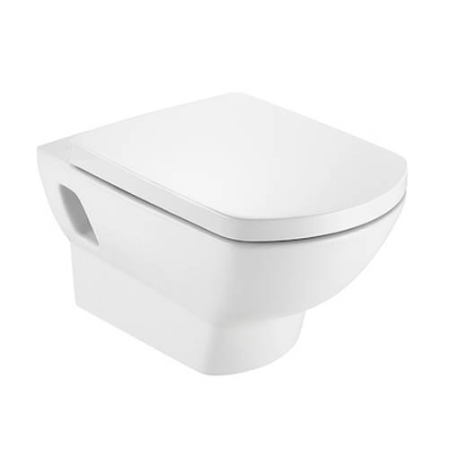 Additional image for Aire Wall Hung Toilet Pan & Seat.