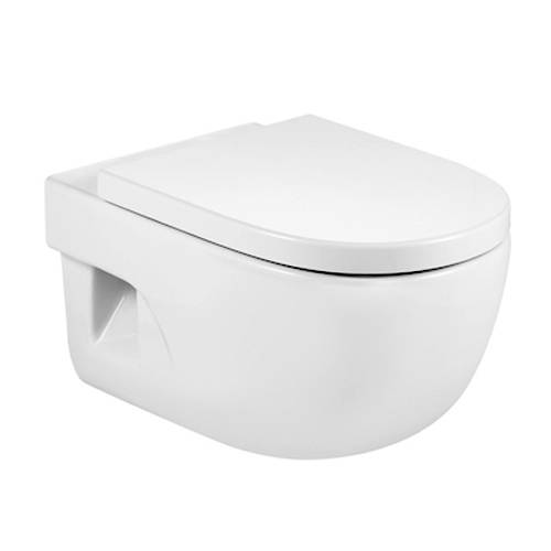Additional image for Meridian-N Wall Hung Toilet Pan & Seat.