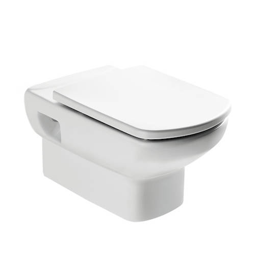 Additional image for Senso Wall Hung Toilet Pan & Seat.