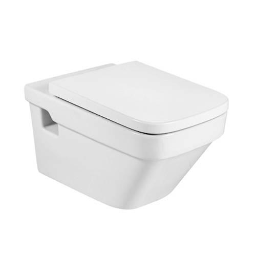 Additional image for Dama-N Wall Hung Toilet Pan & Seat.