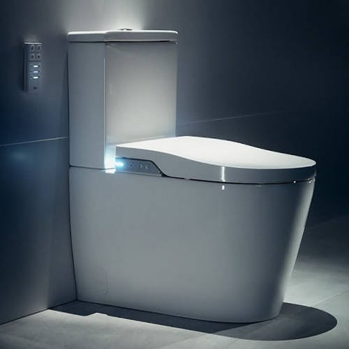Additional image for In-Wash Inspira Smart Close Coupled Toilet.