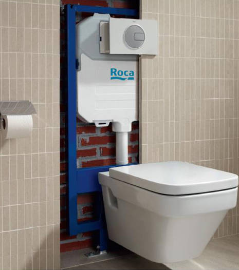 Additional image for In-Wall DUPLO Compact Frame With Dual Flush Cistern.