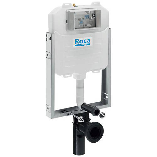 Additional image for In-Wall Basic Compact Frame & Tank With Dual Flush.
