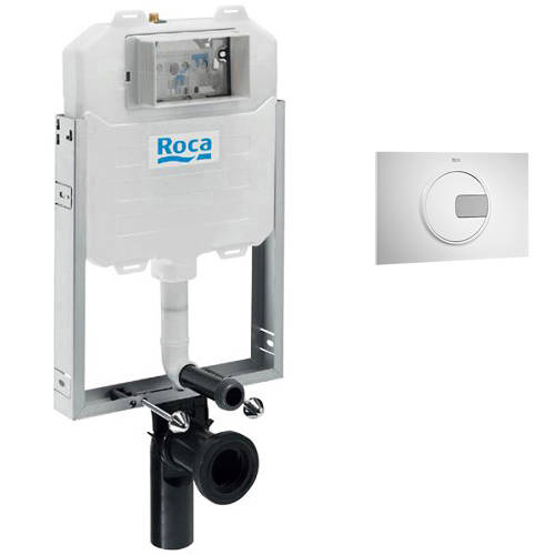 Additional image for In-Wall WC Compact Tank & PL4 Dual Flush Panel (Combi).