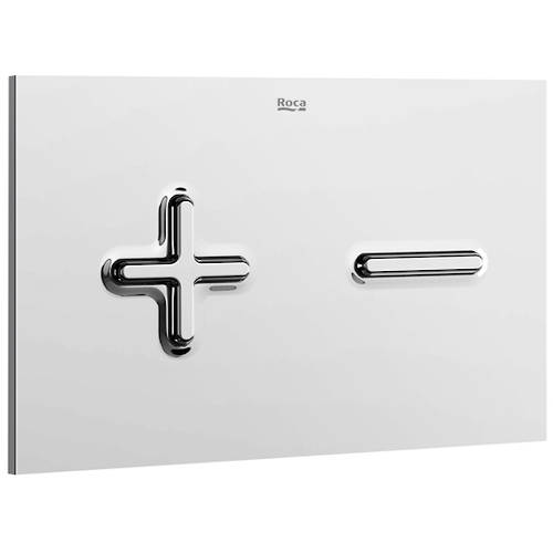Additional image for In-Wall WC Compact Tank & PL6 Dual Flush Panel (Chrome).