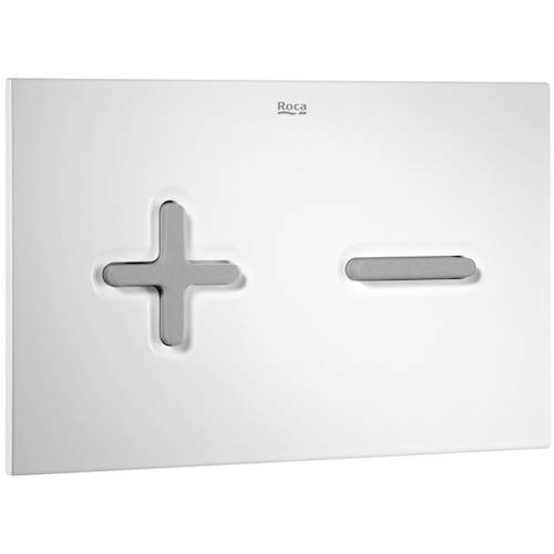 Additional image for In-Wall WC Compact Tank & PL6 Dual Flush Panel (Combi).