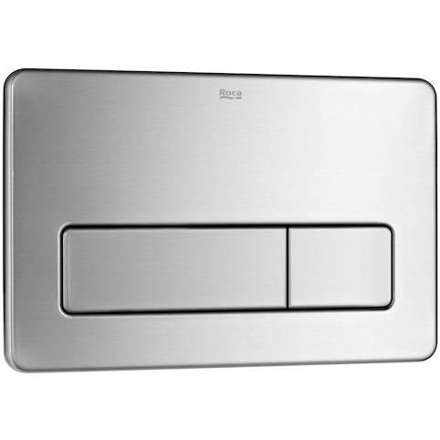 Additional image for In-Wall Basic Compact Tank & PL3 Dual Anti Vandal Panel (S Steel).