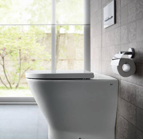 Additional image for In-Wall Basic Compact Tank & PL4 Dual Flush Panel (Grey).