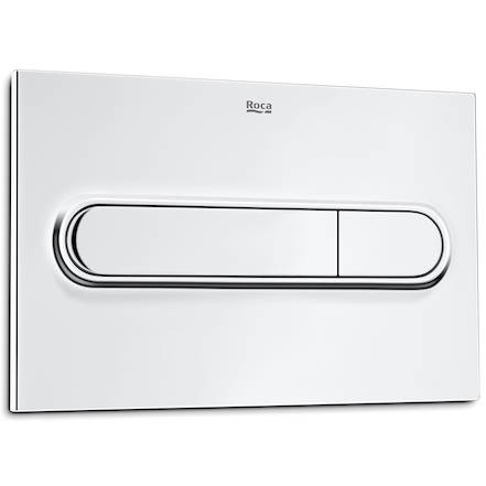 Additional image for DUPLO WC Wall Hung Frame & PL1 Dual Flush Panel (Chrome).