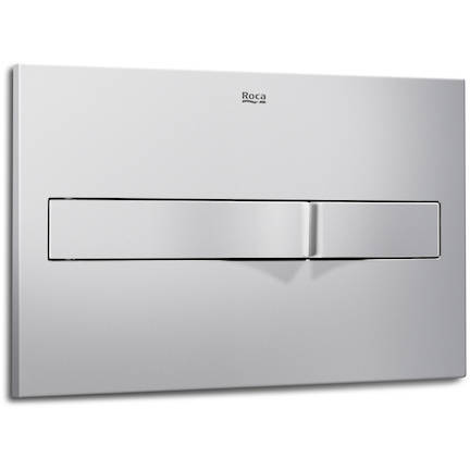 Additional image for DUPLO WC Wall Hung Frame & PL2 Dual Flush Panel (Grey).