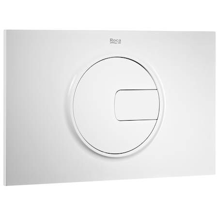 Additional image for DUPLO WC Wall Hung Frame & PL4 Dual Flush Panel (White).