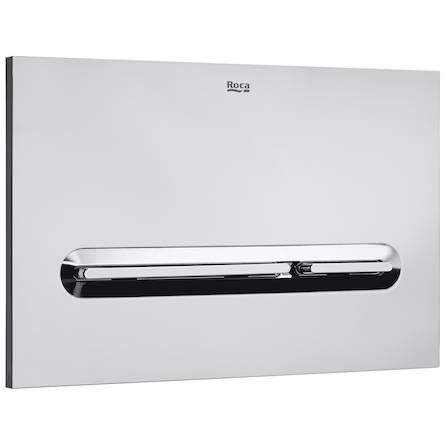 Additional image for DUPLO WC Wall Hung Frame & PL5 Dual Flush Panel (Chrome).