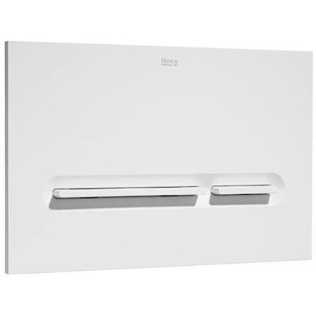 Additional image for DUPLO WC Wall Hung Frame & PL5 Dual Flush Panel (White).