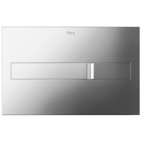 Additional image for DUPLO LH Wall Hung Frame & PL2 Dual Flush Panel (Chrome).
