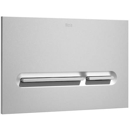 Additional image for DUPLO LH Wall Hung Frame & PL5 Dual Flush Panel (Grey).