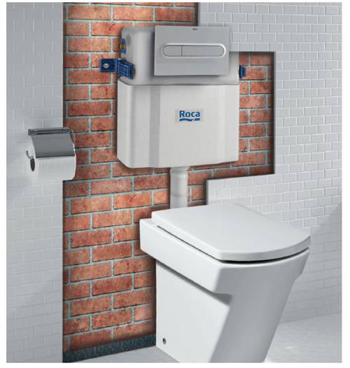 Additional image for In-Wall Basic Tank LH With Dual Flush (Under Window).
