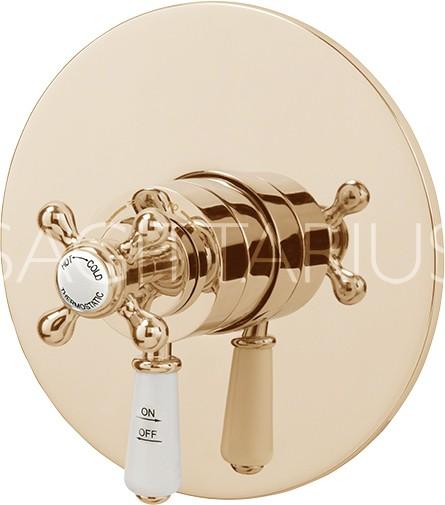Additional image for Kensington Concealed Thermostatic Shower Valve (Gold).