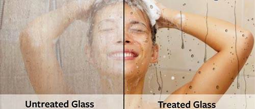 Additional image for Renovation Kit Refurbishes Existing Shower Enclosure Glass.