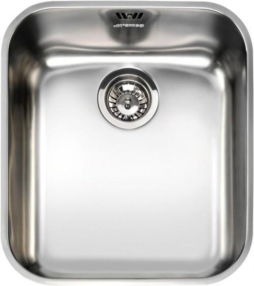 Additional image for Alba Undermount Kitchen Sink 340x400mm (S Steel).