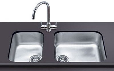 Additional image for 1.0 Bowl Stainless Steel Undermount Kitchen Sink. 450mm.