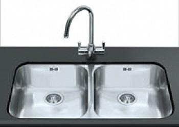 Alba 2.0 Bowl Undermount Kitchen Sink (Stainless Steel). Smeg ...