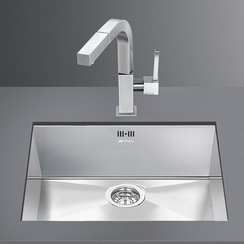 Additional image for Quadra Undermount Kitchen Sink 400x500mm (S Steel).