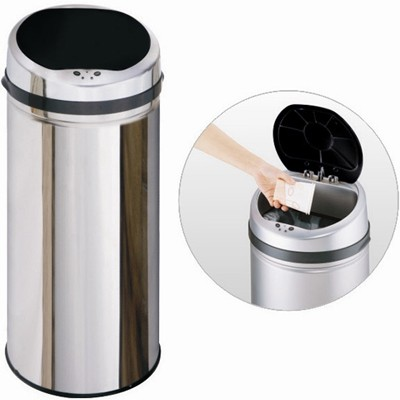 Additional image for 50 Litre Stainless Steel Waste Bin.
