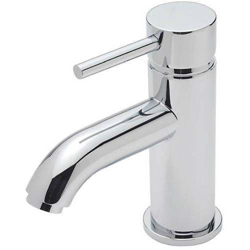 Additional image for Basin Mixer Tap With Click Clack Waste (Chrome).