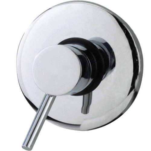 Additional image for Exposed Manual Shower Valve (Chrome).
