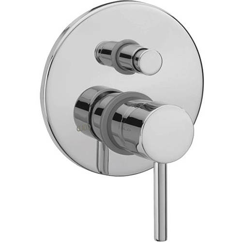 Additional image for Concealed Shower Valve With Diverter (Chrome).