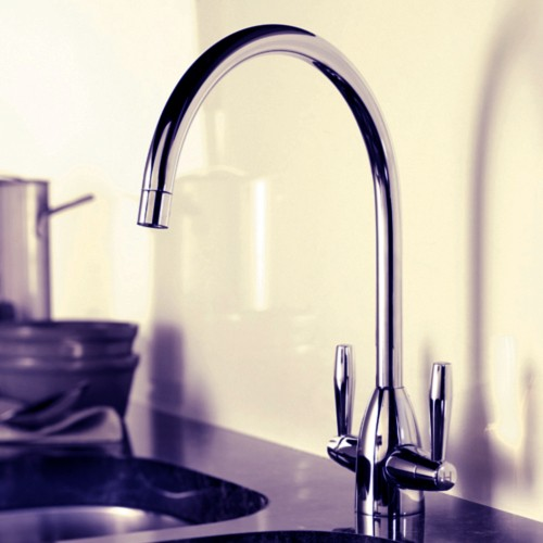 Additional image for Enzo Kitchen Tap (Brushed Nickel).
