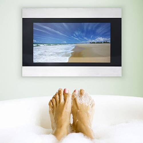 "Additional image for 17"" Infiniti Waterproof Mirror TV (LED)."