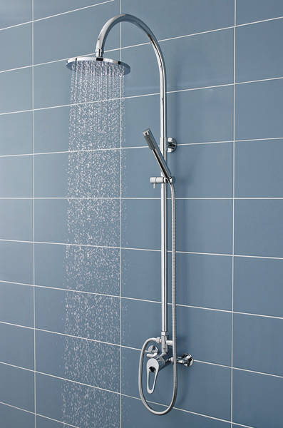Additional image for Ocean Manual Exposed Shower Valve & Zephyr Kit.