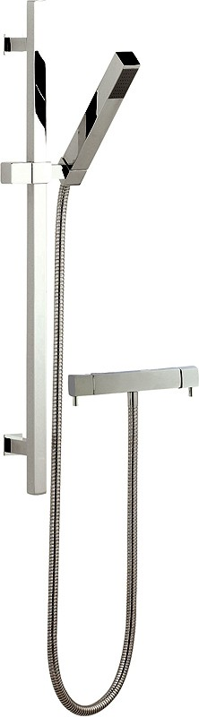 Additional image for Thermostatic Bar Shower Valve & Kubix Slide Rail Set.