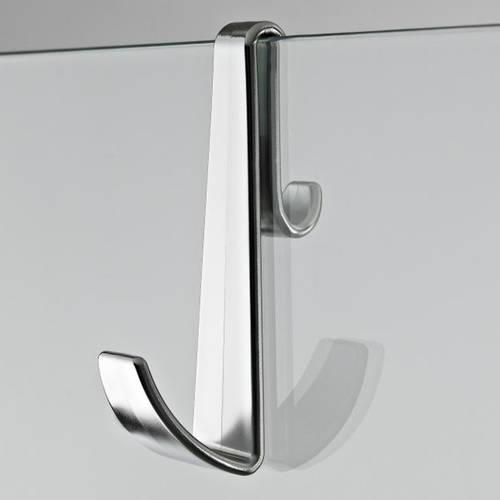 Additional image for Shower Enclosure Hook (Chrome).