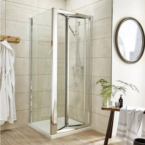 Additional image for Shower Enclosure With Bi-Fold Door (760x900mm).