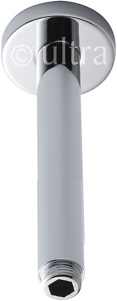 Additional image for Ceiling Mounting Shower Arm (300mm, Chrome).
