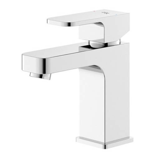 Additional image for Basin Mixer Tap With Lever Handle (Chrome).