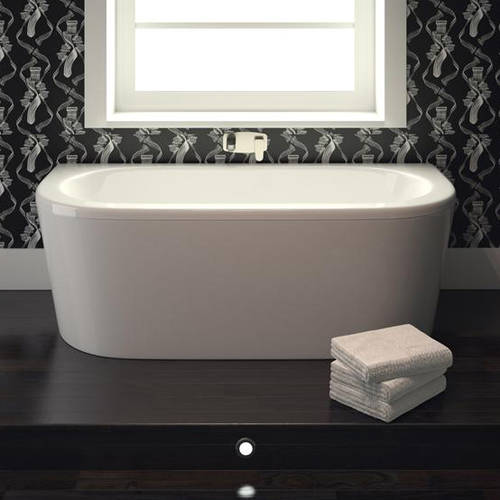 Additional image for Back To Wall Bath. 1700x800mm.