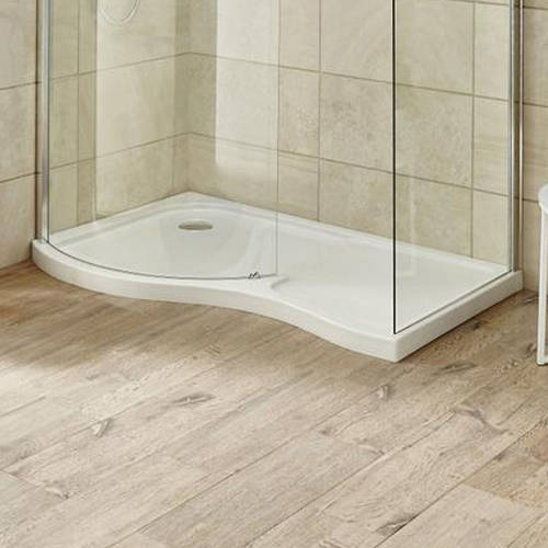 Additional image for Walk In Shower Tray (Left Handed, 1400x906x60mm).