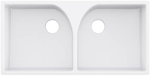 Additional image for Athlone Double Butler Sink 220x795x500mm (1 Hole).