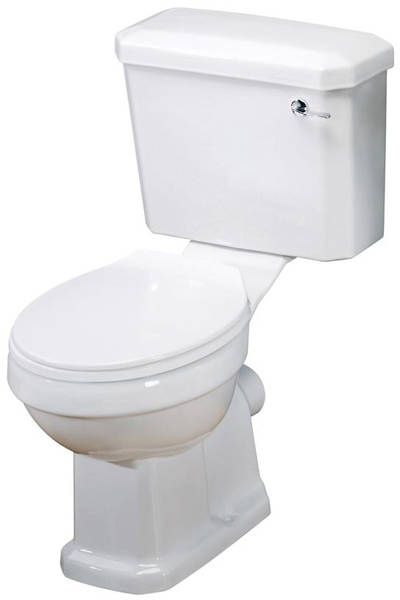 Additional image for Traditional Suite, Toilet, 560mm Basin & Ped (1TH).