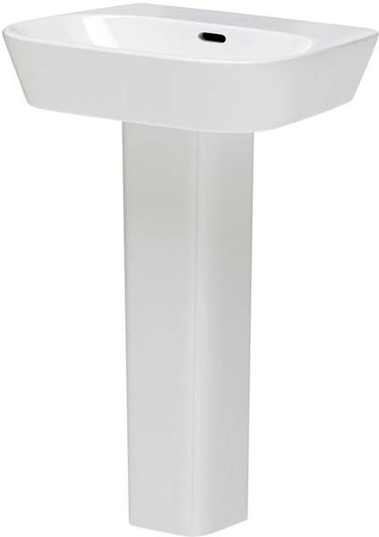 Additional image for Basin & Full Pedestal (1 Tap Hole, 600mm).
