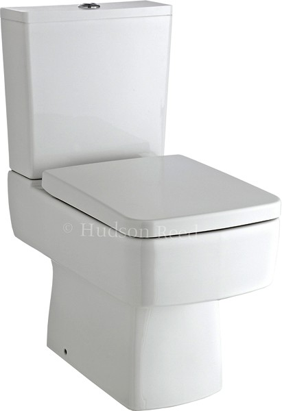 Additional image for Square Toilet With Dual Push Flush & Top Fix Seat.