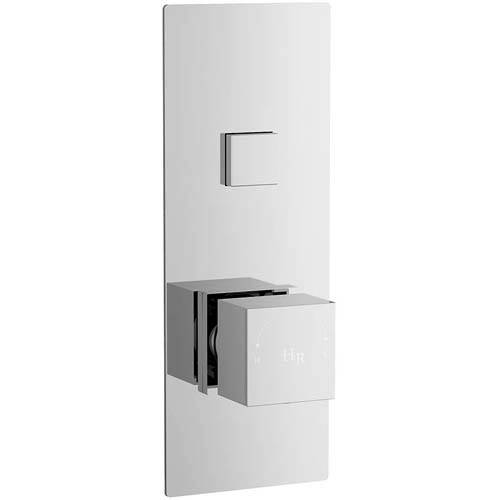 Additional image for Push Button Shower Valve With Square Handle (1 Outlet).