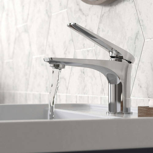 Additional image for Mono Basin & Bath Shower Mixer Tap Pack (Chrome).