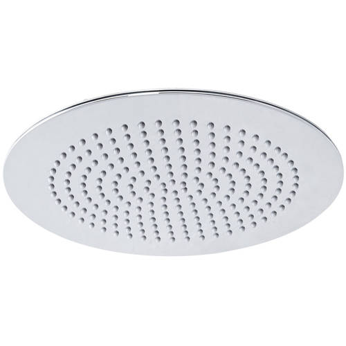 Additional image for Round Shower Head (Chrome). 300mm.