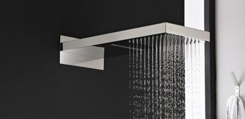 Additional image for Fixed Shower Head With Rain & Waterfall. 200x430.