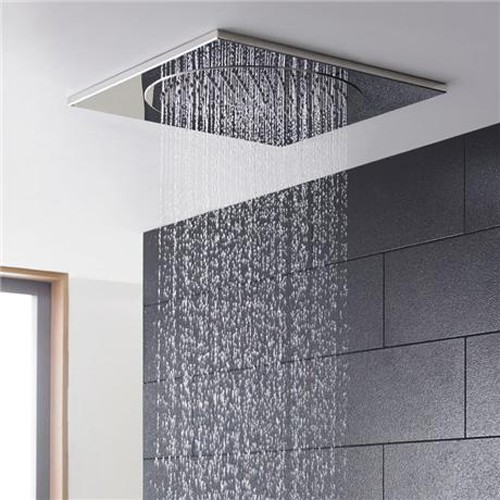 Additional image for Square Ceiling Tile Fixed Shower Head. 270x270mm.