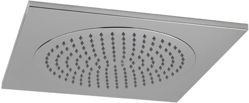 Additional image for Square Ceiling Tile Fixed Shower Head. 500x500mm.